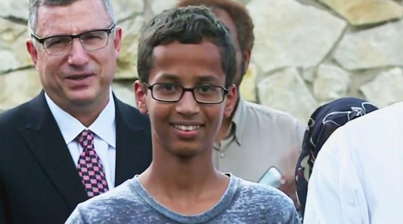 imagem do jovem americano ahmed mohamed