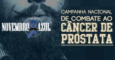 cartaz da campanha novembro azul