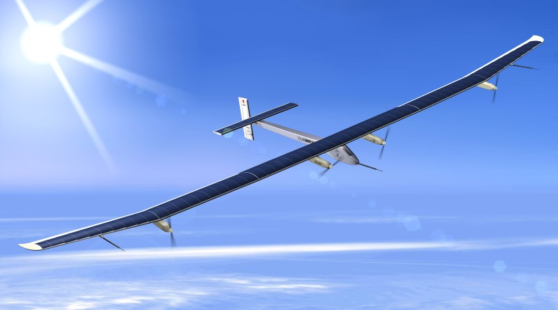 solar impulse no ar