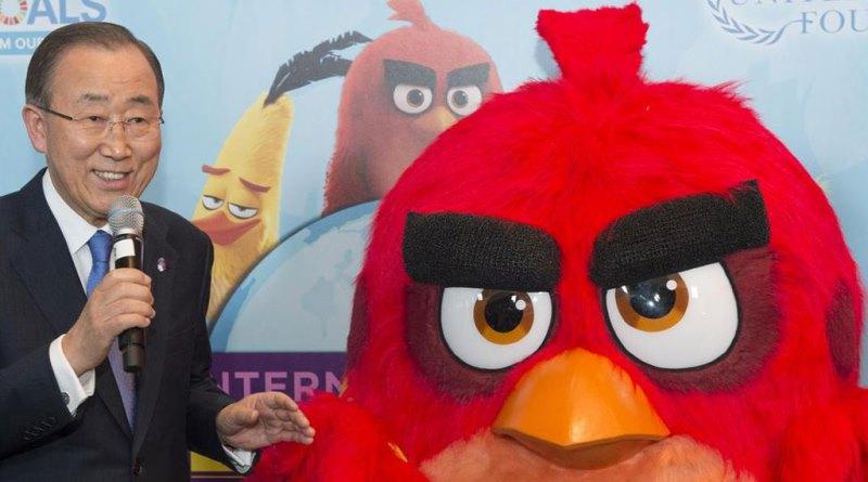 Red, do Angry Birds, novo embaixador das mudanças climáticas da ONU