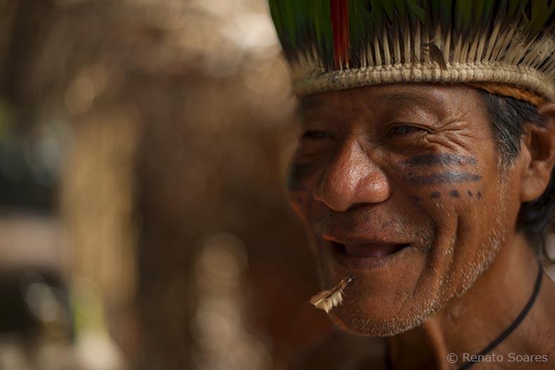 sorriso de índio