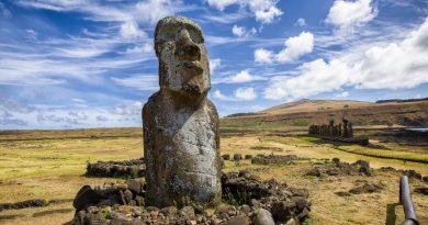 mudanças climáticas ameaçam patrimônios da humanidade, como os totens da Ilha de Páscoa
