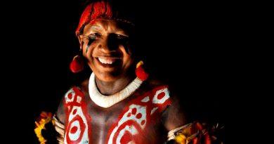 sorriso de um índio