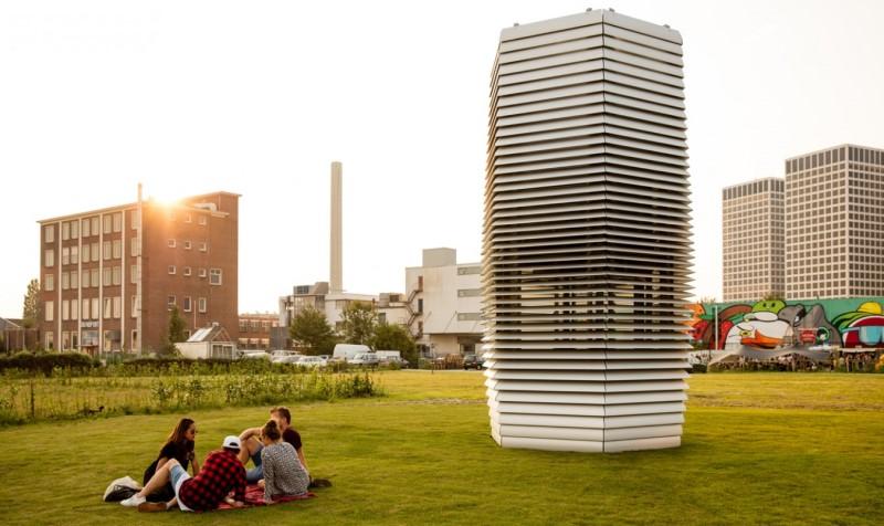 purificador de ar contra poluição