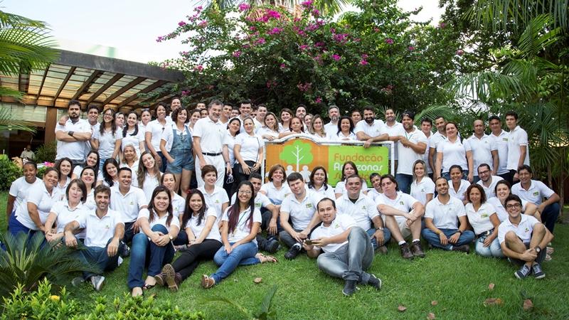 equipe da fundação amazonas sustentável