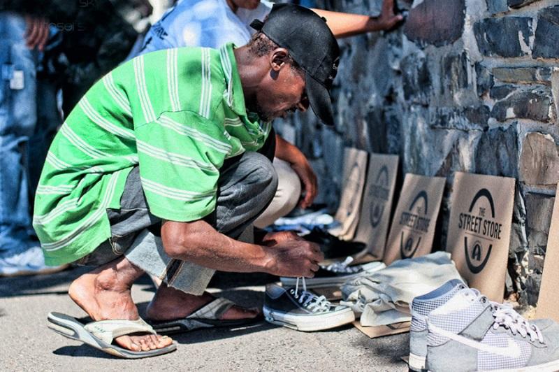doações the street store