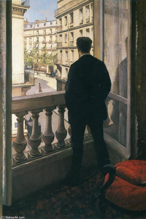 Gustave-Caillebotte-Man-at-the-Window