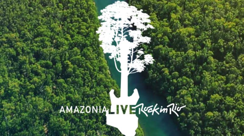 amazonia live: campanha pelo reflorestamento da floresta amazônica