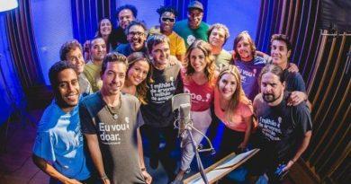Artistas e astros brasileiros do rock gravam clipe pelo plantio de 1 milhão de árvores na Amazônia