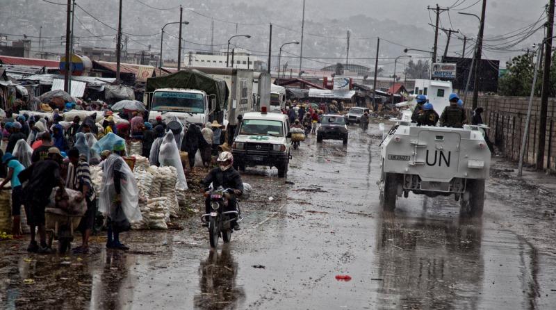 furacão Matthew no Haiti
