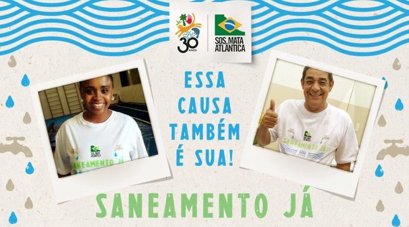 40% do esgoto no Brasil não é tratado: saneamento já!!!