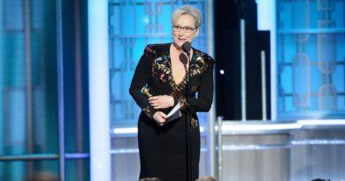 Meryl Streep defende diversidade, respeito e a imprensa no Globo de Ouro