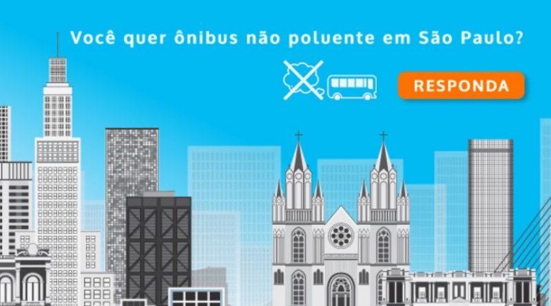 Você quer ônibus não poluentes em São Paulo? Assine já petição para obrigar a prefeitura a cumprir a lei!