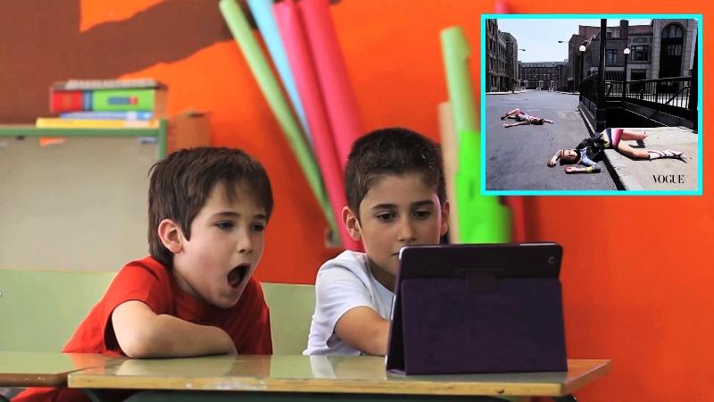 Vídeo mostra reação (surpreendente) de crianças aos anúncios do mundo da moda