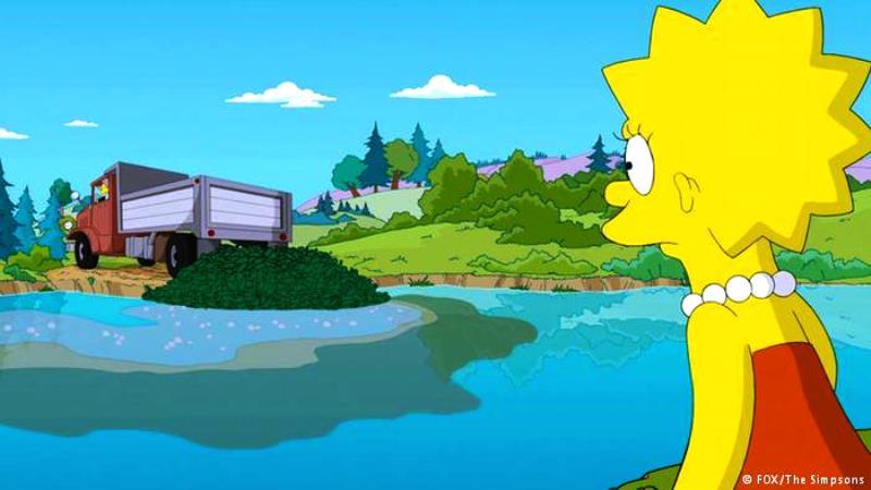 Lisa Simpson celebra 30 anos de ativismo ambiental