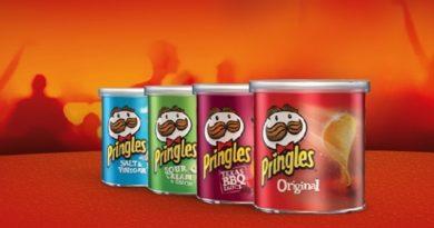 latas de batata pringles