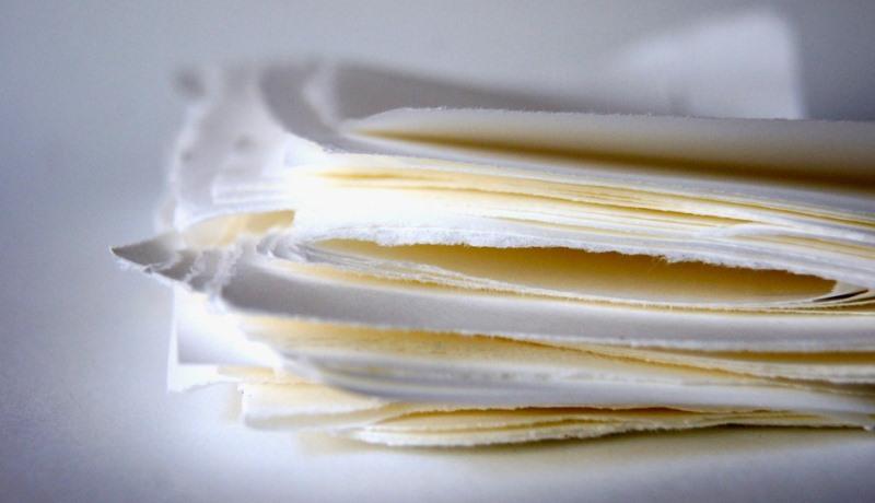Empresa paulista produz papel utilizando palha da cana-de-açúcar