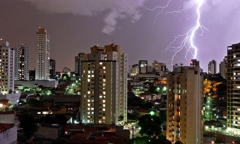 tempestade e chuva em São Paulo