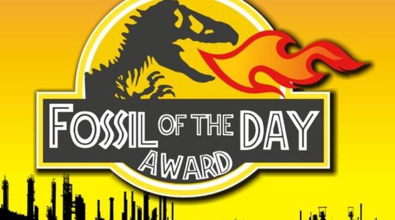 Brasil ganha prêmio Fóssil do Dia