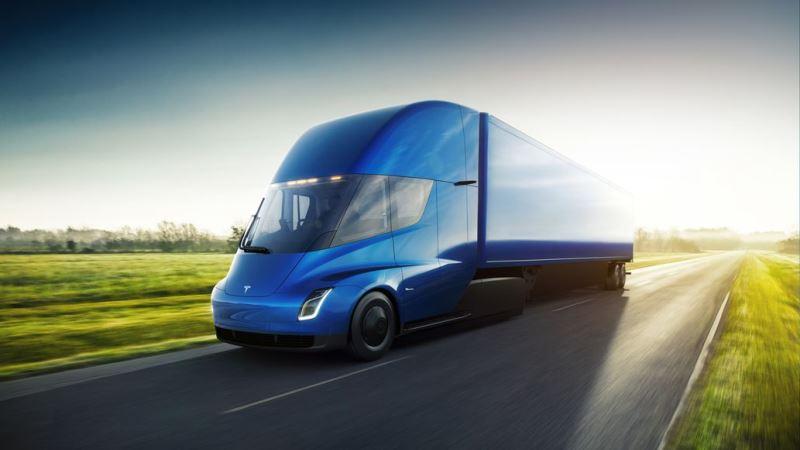 Tesla apresenta seu caminhão elétrico