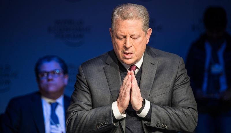"""""""Ainda há tempo da humanidade controlar seu destino"""", alerta Al Gore no Fórum Econômico Mundial"""