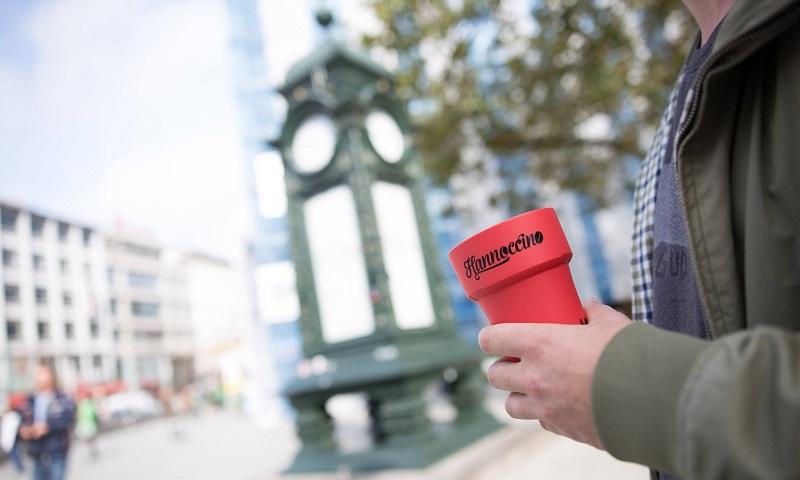 Hannoccino: em Hannover, copo de café não vai mais para o lixo!