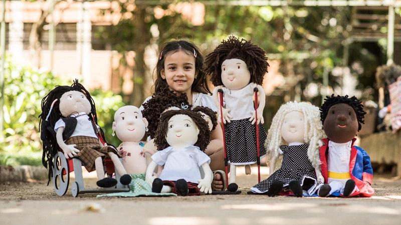 As bonecas da inclusão