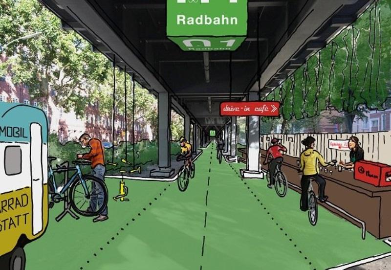 dace4f30bd8 Berlim ganha projeto de reforma de ciclovia coberta