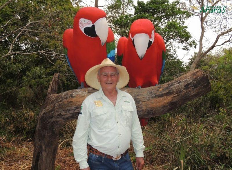 A história inspiradora de Seu Modesto: o fazendeiro que recuperou o lar das araras-vermelhas no Mato Grosso do Sul