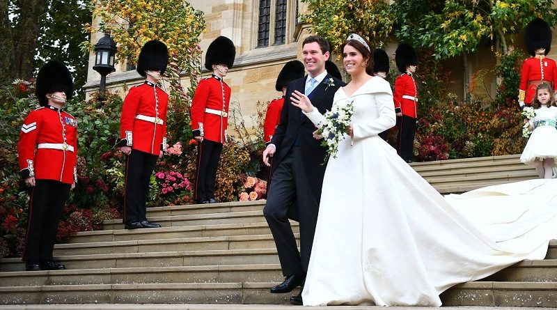 Casamento real, mas sem plástico e com atitude