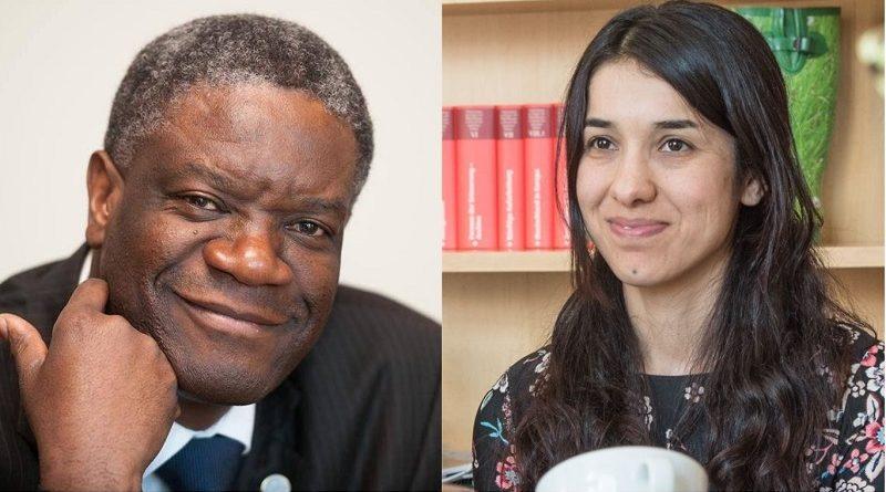 Médico e jovem ativista contra violência sexual como arma de guerra são ganhadores do Nobel da Paz