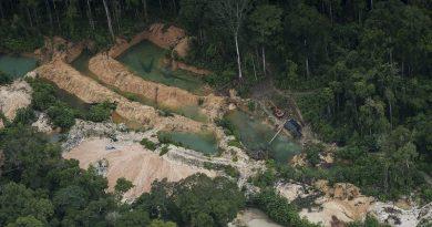 Mapa inédito revela áreas de garimpo ilegal em terras indígenas e unidades de conservação na Amazônia