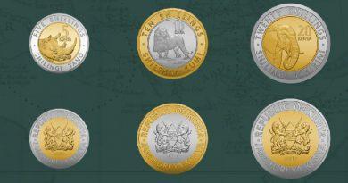 Quênia substitui presidentes (e ditadores) por animais em novas moedas
