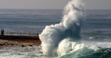 aquecimento do oceano aumenta poder das ondas
