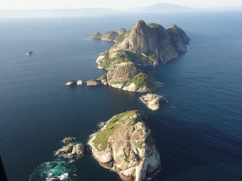 Arquipélagos de Alcatrazes, no litoral de SP, é aberto para mergulho e visitação de barco