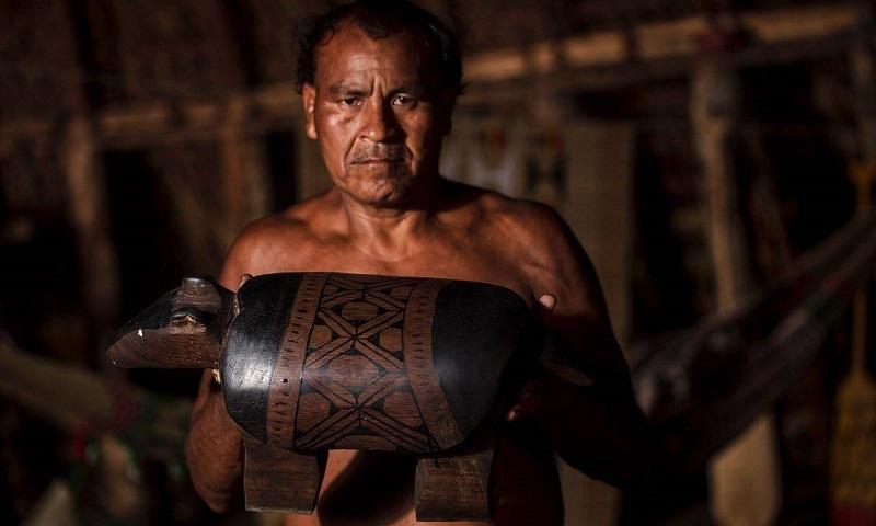 bancos feitos por indígenas mostram respeito sagrado que tem pelos animais