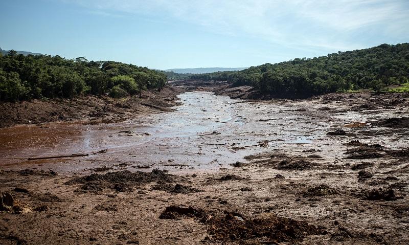 Contaminação do rio Paraopeba com rejeitos de minério já chega a 90 km de Brumadinho
