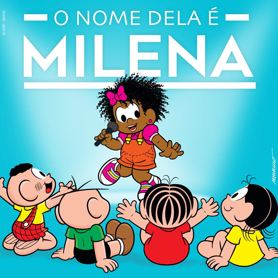 Negra e defensora dos animais, Milena é a nova personagem da Turma da Mônica