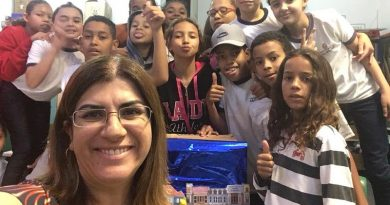 professora paulista que concorre ao Global Teacher Prize