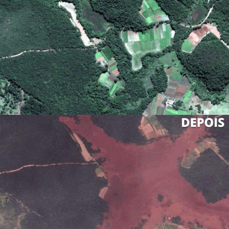 10YearsChallenge engajado: as tragédias de Brumadinho e Rio