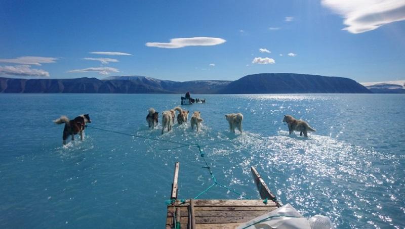 Temperatura mais de 20oC acima do normal na Groenlândia choca cientistas