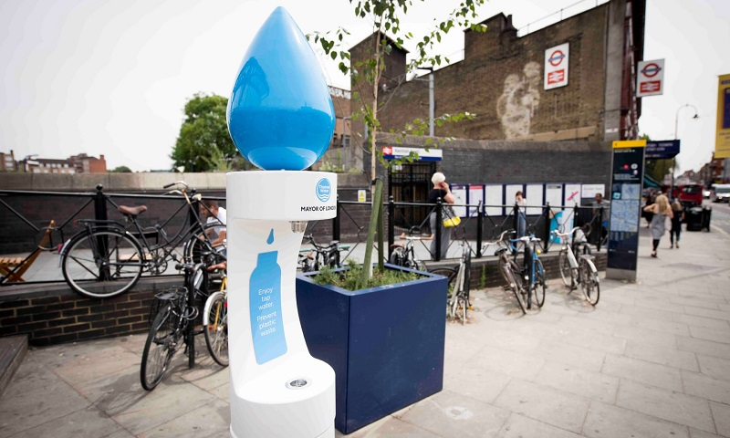 Londres anuncia instalação de mais bebedouros em projeto para combater uso de garrafas plásticas