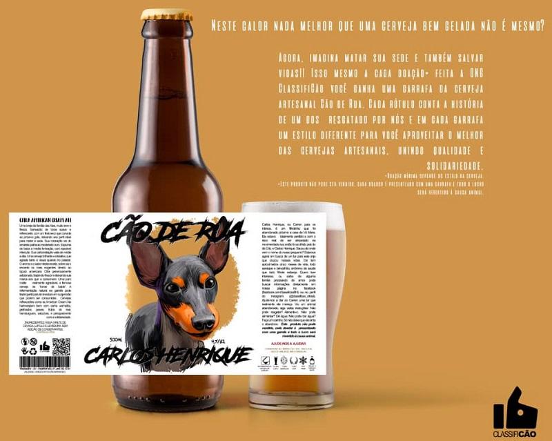 Doou? Ganhou! ONG de proteção animal recompensa doadores com cervejas artesanais com rótulos mais do que especiais