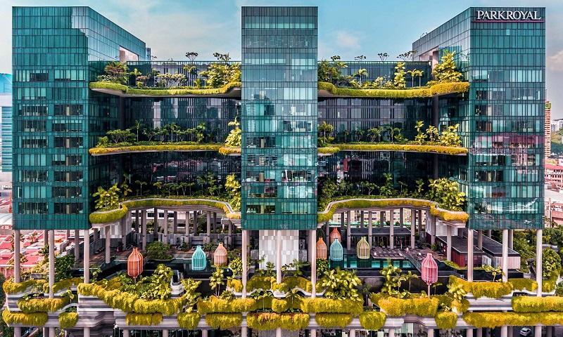 Hotel mais sustentável do mundo fica em Singapura