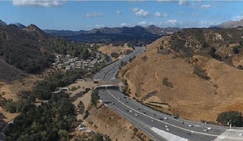 Maior viaduto do mundo para travessia de animais será construído em estrada de Los Angeles