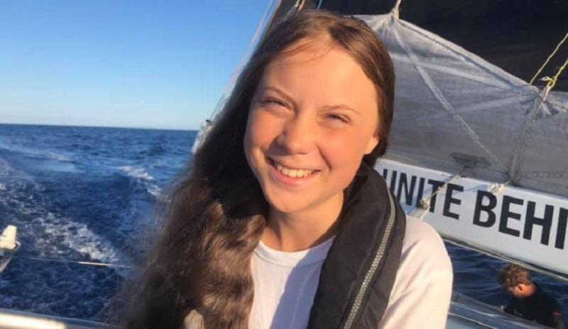 Greta Thunberg está na lista da Time das 15 mulheres que lideram a luta contra as mudanças climáticas