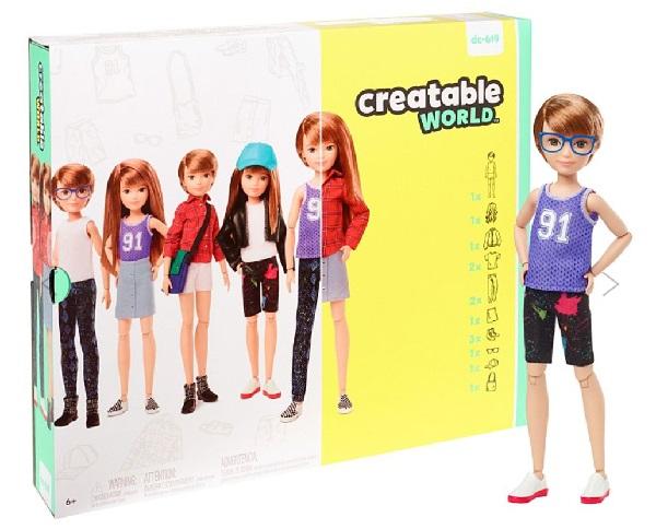 Maior fabricante de brinquedos do mundo lança coleção de boneco/as com gênero neutro
