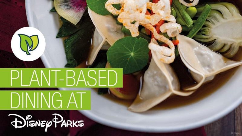 Restaurantes dos parques da Disney abraçam o veganismo