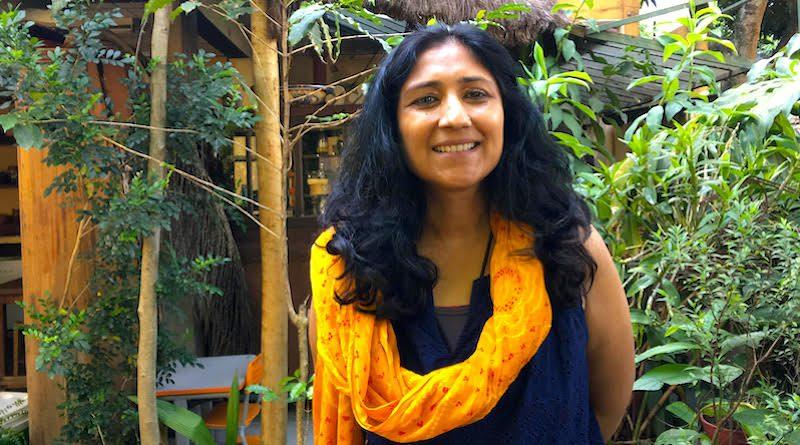 Vidhi Jain, ativista indiana, acredita que é preciso desaprender para poder criar