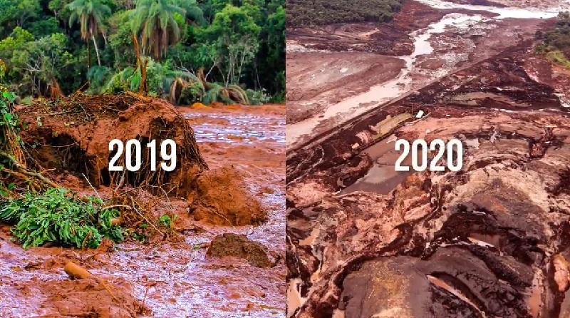 Água do rio Paraopeba continua imprópria para uso e com presença de metais pesados um ano após tragédia de Brumadinho